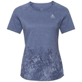 Damen MILLENNIUM ELEMENT PRINT T-Shirt, blue indigo melange - Blackcomb, large