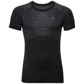 Men's PERFORMANCE LIGHT Base Layer T-Shirt, black, large