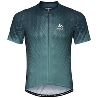ELEMENT PRINT Radtrikot, dark slate - arctic, large