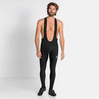 Cuissard Cycle à bretelles ZEROWEIGHT CERAMIWARM pour homme, black, large