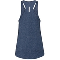 Women's LOU LINENCOOL Tank Top, blue wing teal melange, large