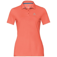 CARDADA  Polohemd, hot coral, large
