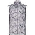 Bodywarmer ZEROWEIGHT, odlo graphite grey - paper print SS19, large