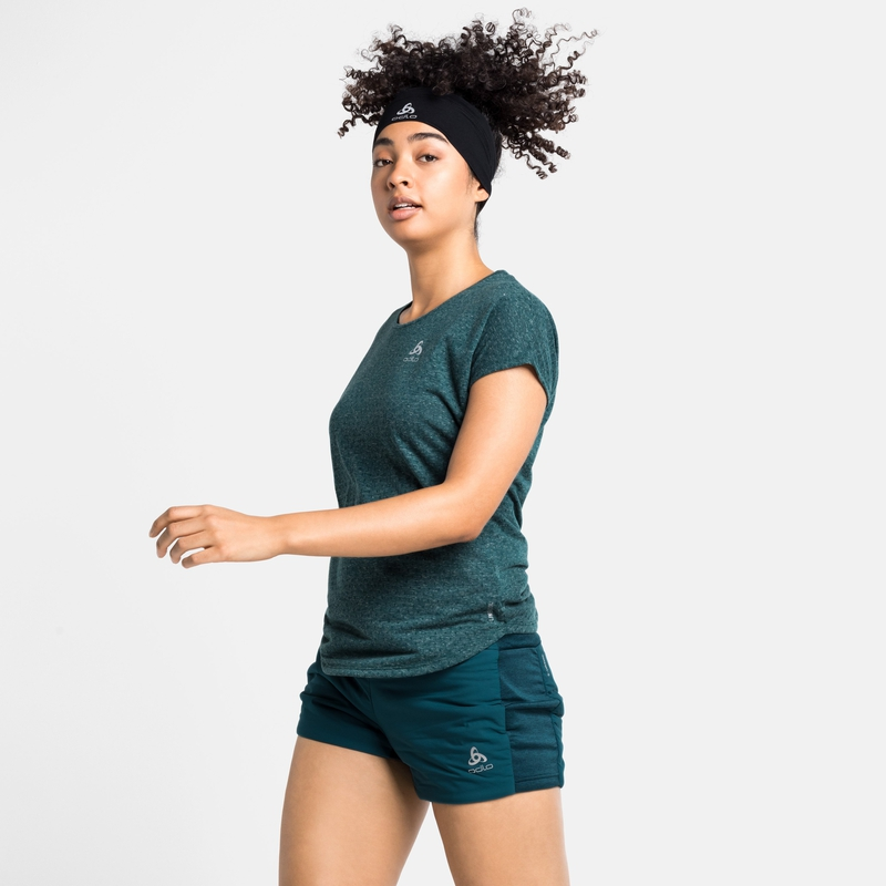 Women's MILLENNIUM LINENCOOL T-Shirt, balsam, large