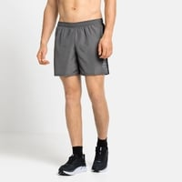 Men's ESSENTIAL 6 INCH Running Shorts, odlo steel grey, large