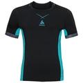 CeramiCool Pro Baselayer Shirt Herren, black - lake blue, large