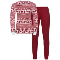 Set ACTIVE Originals WARM REINDEER, white - red dahlia, large