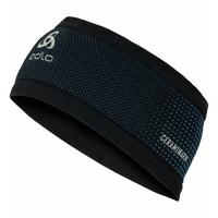 VELOCITY CERAMIWARM Headband, black - directoire blue, large