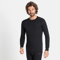 Men's ACTIVE WARM ECO Long-Sleeve Baselayer Top, black, large