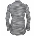 Women's FLI LIGHT PRINT Full-Zip Mid Layer, odlo silver grey - graphic SS21, large