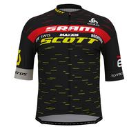 Stand-up collar s/s full zip SCOTT SRAM RACING PRO, SCOTT SRAM 2020, large