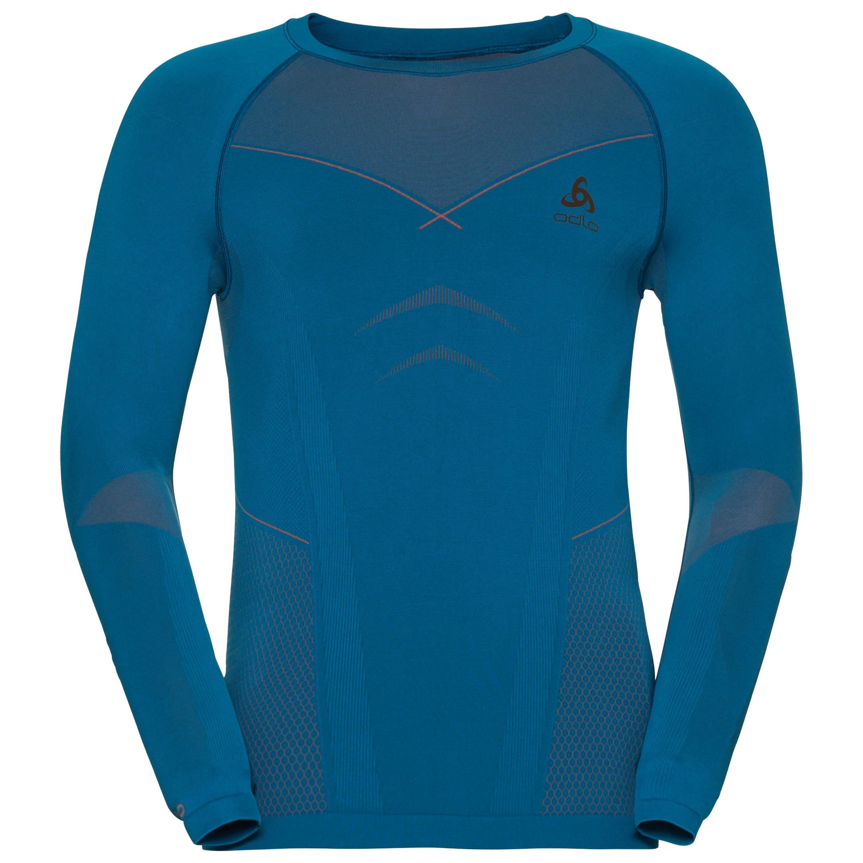 Odlo Neck Warm Crew Shirt Deportiva Outlet Ropa Evolution Ls 1YxxnqE