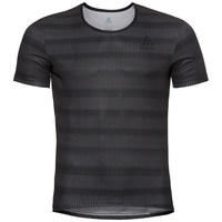 Herren ZEROWEIGHT Radsport Funktionsunterwäsche T-Shirt, odlo graphite grey - black, large