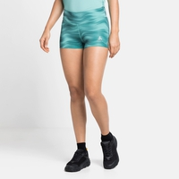 Women's ESSENTIAL SPRINTER PRINT Short Running Tights, jaded - graphic SS21, large