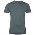 Herren NATURAL + LIGHT Funktionsunterwäsche T-Shirt, arctic - dark slate, large