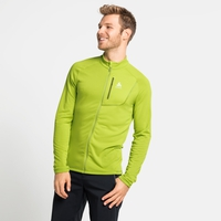 Men's FLI LIGHT Full-Zip Midlayer, macaw green, large