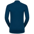 SUW Top Turtle neck 1/2 zip l/s ACTIVE  Revelstoke Warm, poseidon - blue jewel, large
