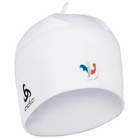 POLYKNIT FAN WARM Mütze, France Fan White, large