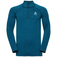 Midlayer 1/2 zip IRBIS Warm, poseidon - blue jewel, large
