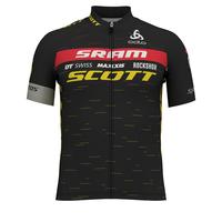 Stand-up collar s/s full zip SCOTT SRAM RACING REPLICA, SCOTT SRAM 2020, large