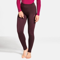 Women's PERFORMANCE WARM Baselayer Pants, decadent chocolate - cerise, large