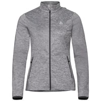 Damen ALAGNA Midlayer, grey melange, large