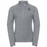 ROYALE KIDS 1/2 Zip Midlayer, grey melange - odlo concrete grey, large
