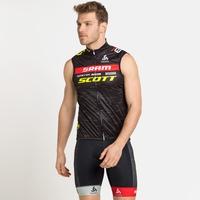 Gilet de cyclisme Scott-Sram Racing Fan pour homme, SCOTT SRAM 2021, large
