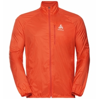 Men's ZEROWEIGHT Running Jacket, mandarin red, large