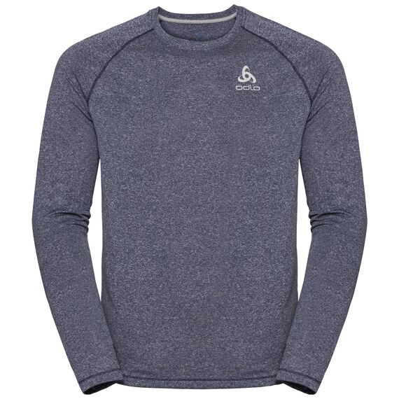 T-shirt l/s AION, peacoat melange, large