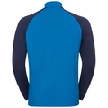 Stand-up collar l/s 1/2 zip TAHOE II, mykonos blue - peacoat, large
