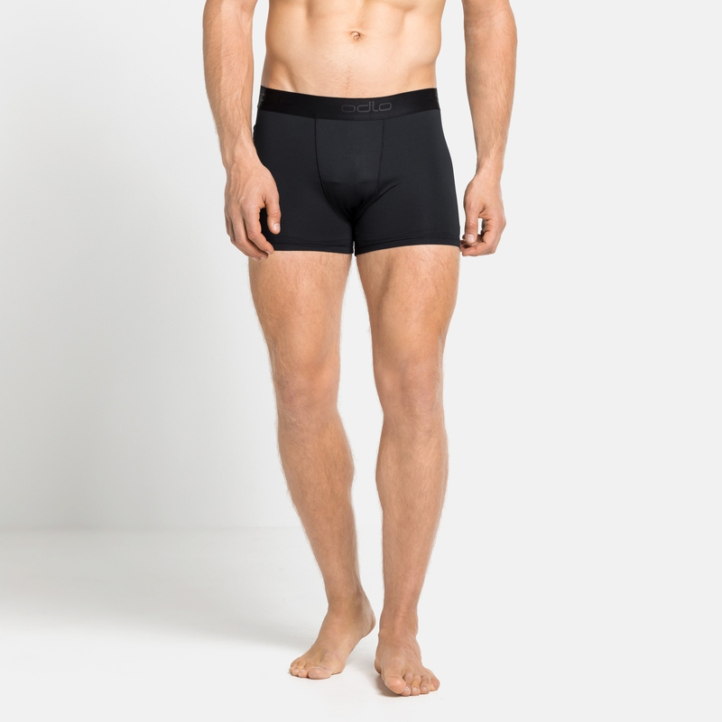 Herren ACTIVE SPORT Lauf-Boxershorts, black, large