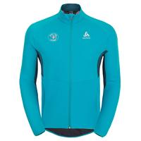Jacket AEOLUS ELEMENT WARM  FAN FRANCE, blue jewel - poseidon, large
