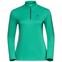 Midlayer 1/2 zip HARBIN, mint leaf, large