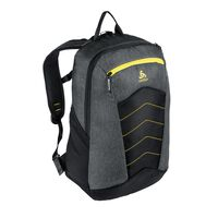 Backpack ACTIVE-23L, odlo graphite grey - safety yellow, large