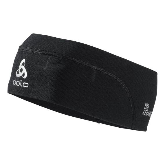 Headband CERAMICOOL, black, large
