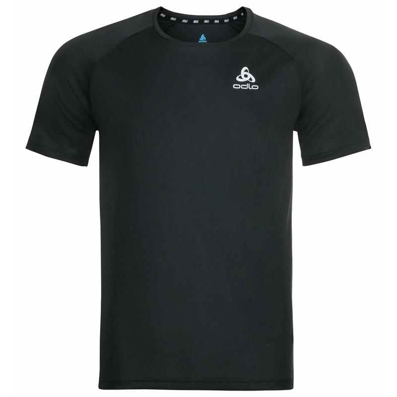 Herren ESSENTIAL CHILL-TEC T-Shirt, black, large