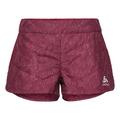Shorts IRBIS X-Warm, rumba red - AOP FW18, large