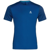 Men's NIKKO ACTIVE Base Layer T-Shirt, energy blue - diving navy, large