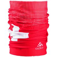 Tube Flag, fiery red - SWISS flag, large