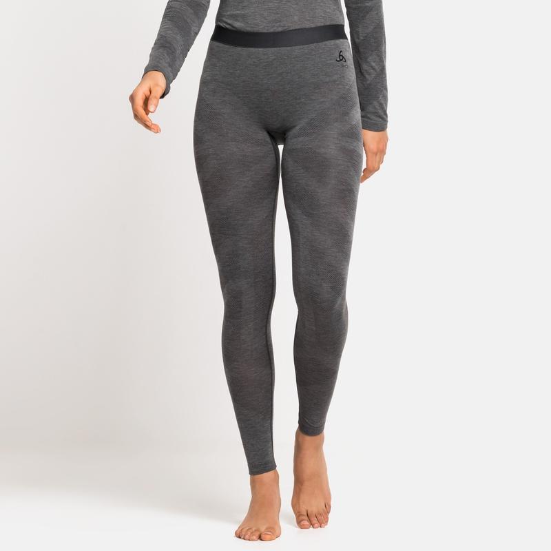 Women's KINSHIP LIGHT Base Layer Bottoms, grey melange, large