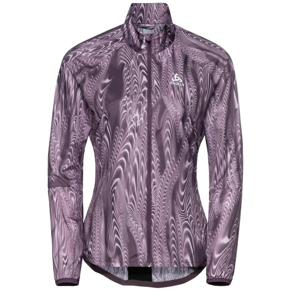 Jacket OMNIUS Light, vintage violet - AOP FW18, large