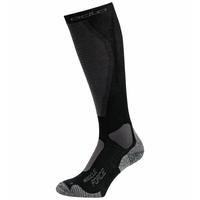 Uniseks MUSCLE FORCE ACTIVE WARM LIGHT-skisokken, black - odlo graphite grey, large