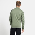 Herren CONCORD PRINT Midlayer-Jacke, matte green melange - graphic SS21, large