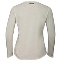 BL TOP LOU LINENCOOL, light grey melange, large