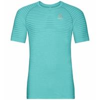 Women's ESSENTIAL SEAMLESS T-Shirt, jaded melange, large