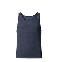REVOLUTION LIGHT Baselayer Singlet, navy new melange, large