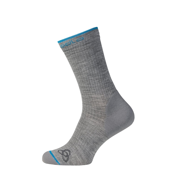 ALLROUND BASIC Socken (im 2er-Pack), grey melange, large