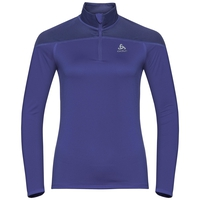 Women's CERAMIWARM ELEMENT 1/2 Zip Midlayer, clematis blue, large