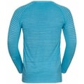 Men's ESSENTIAL SEAMLESS Long-Sleeve Running T-Shirt, horizon blue melange, large
